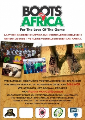 Actie Boots for Africa