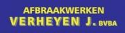 Afbraakwerken Verheyen J. BVBA